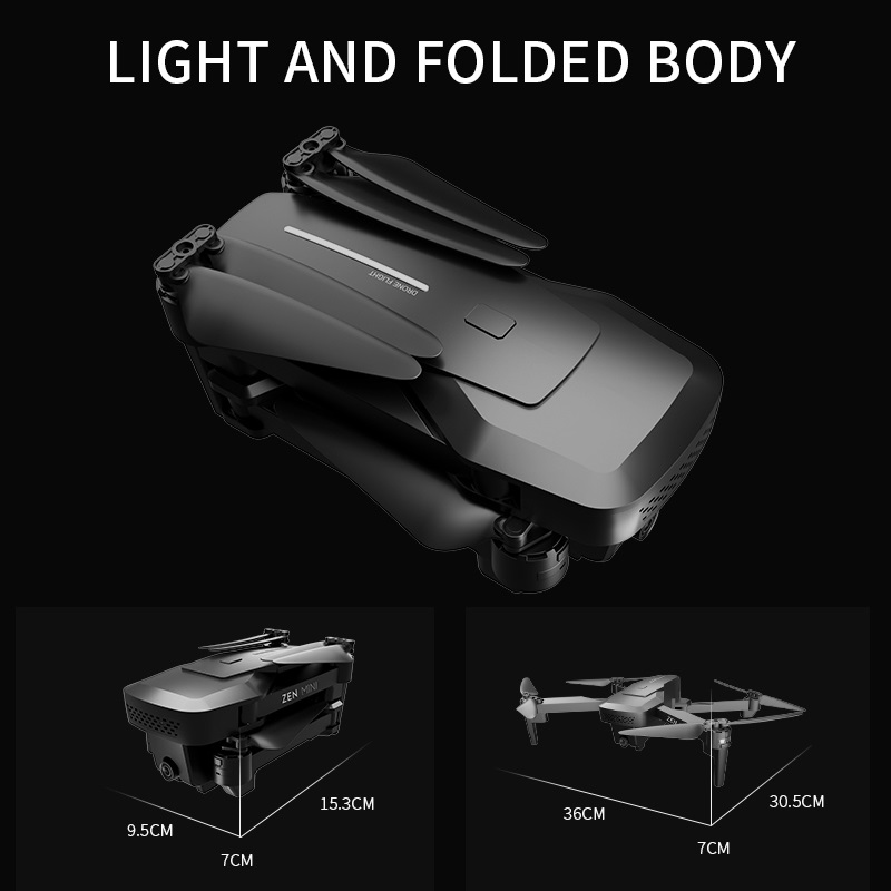 VISUO XS818 GPS Drone 4K Camera HD FPV Drones with Follow Me 5G WiFi Optical Flow Foldable RC Quadcopter Professional Dron 4