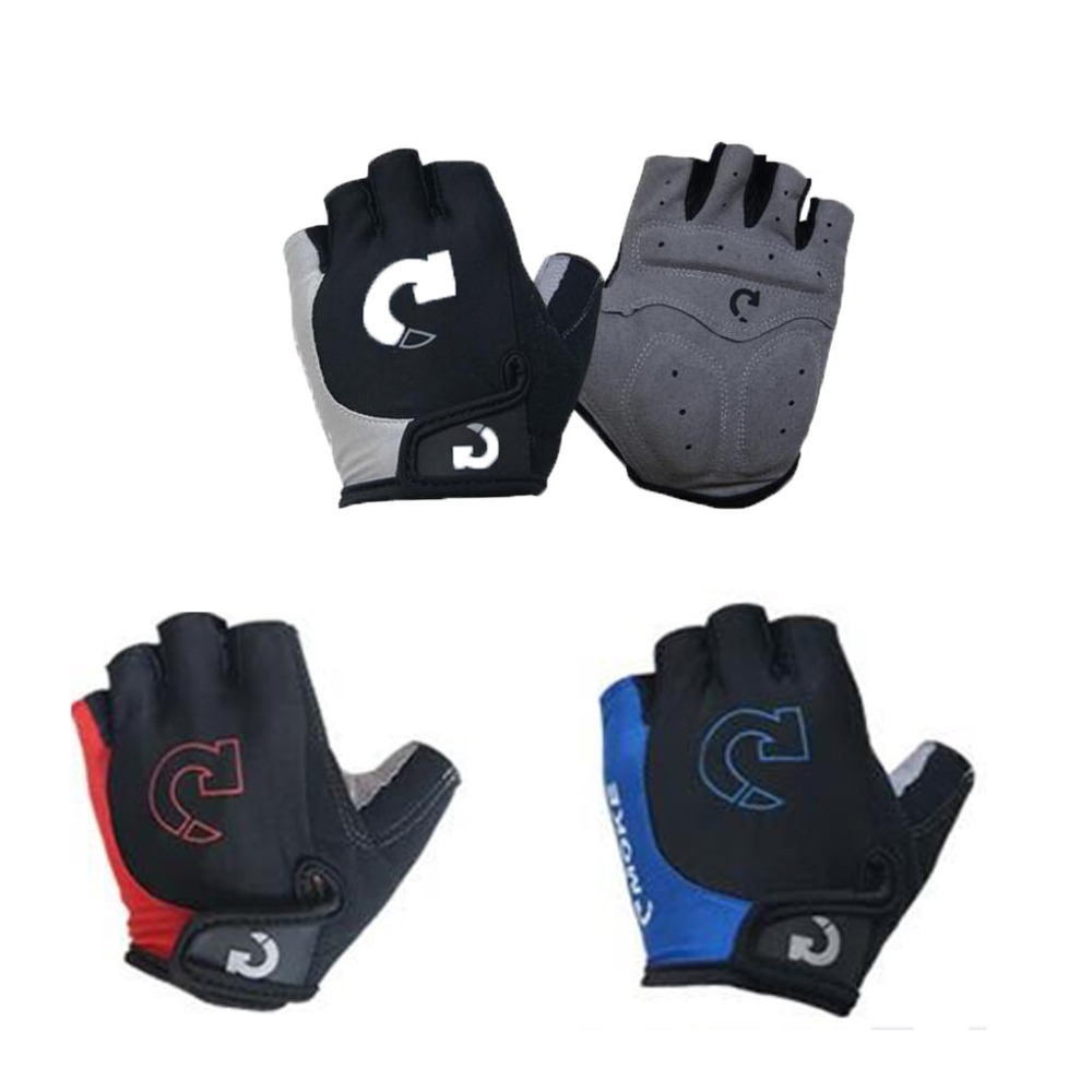 Cycling gloves male half finger bicycle gloves summer mountain bike gloves outdoor riding equipment gloves gel half finger 30N18 (14)
