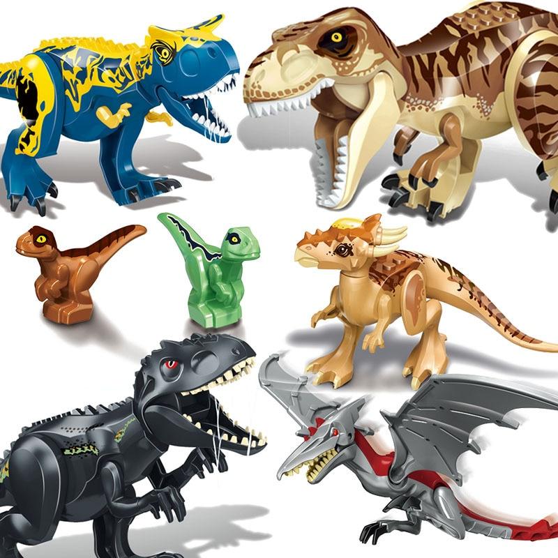 Jurassic World 2 Building Blocks Dinosaurs Figures Bricks Tyrannosaurus Rex