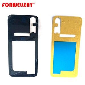 Dla xiaomi mi 9 mi 9 lite/CC9 tylna szyba pokrywa samoprzylepna naklejka naklejki klej pokrywa baterii obudowa drzwi