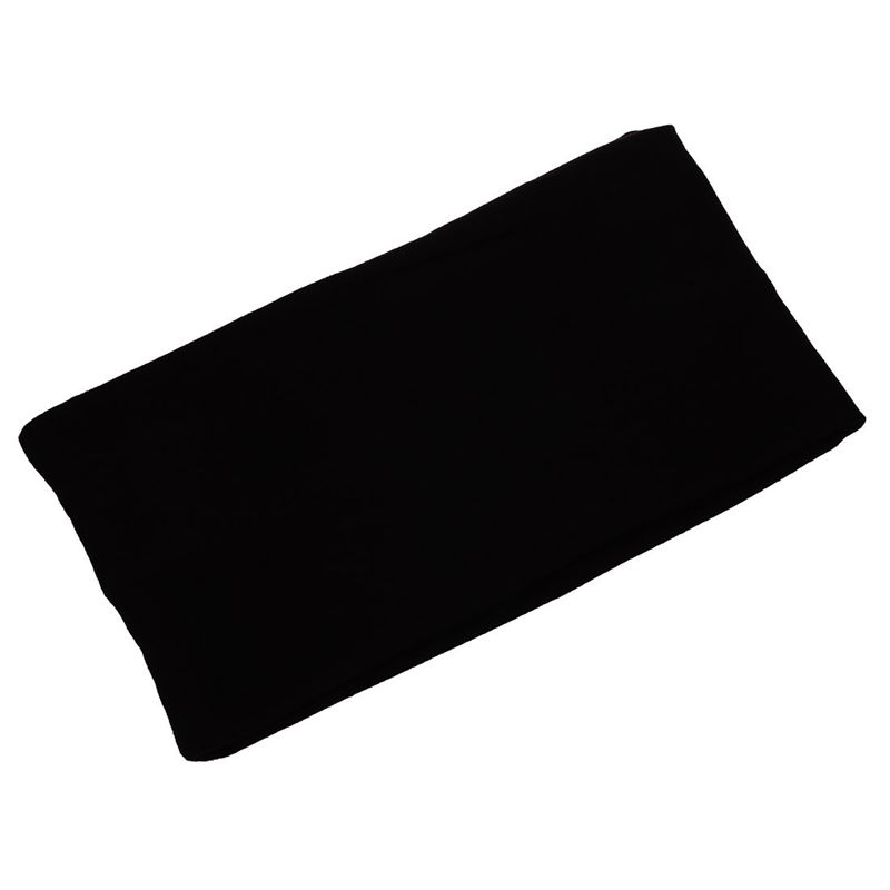 5 quot Women Wide Yoga Dance Sport Headband Stretch Hair Band Elastic Turban black in Yoga Hair Bands from Sports amp Entertainment