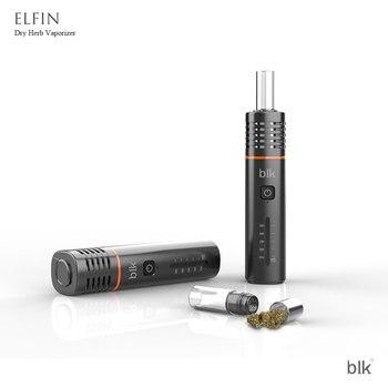 Kingtons – Cigarette électronique BLK Elfin pour herbes sèches, Kit Original, batterie 1800mAh, four 1ml, 5 niveaux de température