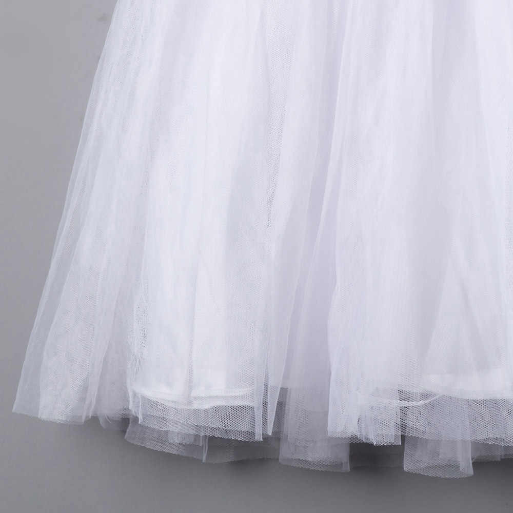 FreeShipping Birthday Outfits for Kids Toddler Girl Party Dress Baby Girl Summer Clothes White Tulle Dresses for Children