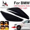 2 uds. De luces de señal de giro dinámicas, indicador lateral, para BMW X6, E71, E72, X5, E70, X3, F25, señal de giro variable ámbar