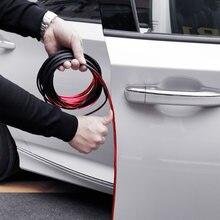 Coche Borde de puerta cinta protectora de arañazos pegatinas de coche para Volkswagen golf 4 5 5 5 6 6 7 De Tigua de POLO PASSAT TOURAN Scirocco Escarabajo