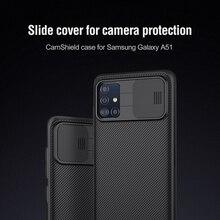 Dành Cho Samsung Galaxy A51 Camera Ốp Lưng Nillkin Cao Cấp Họa Tiết Thể Thao Silicone Camshield Ốp Lưng Dành Cho Samsung A51 Ốp Lưng Điện Thoại
