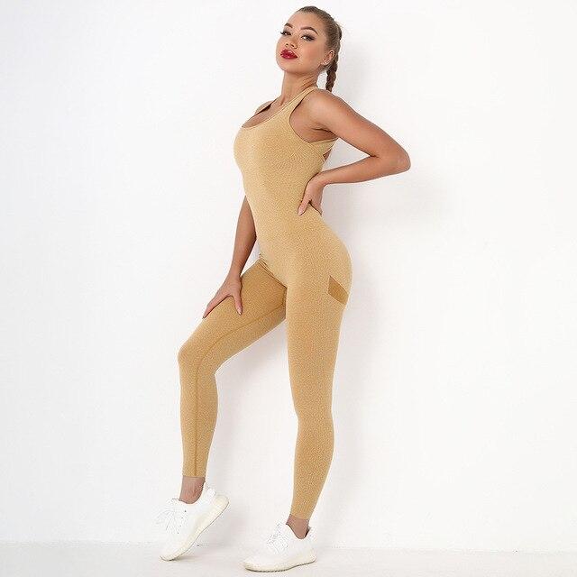 Macacão Fitness Sem Costura Feminino 32