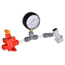 Регулятор давления диафрагмы Spunding клапан набор 0-40psi Регулируемый сброс давления измерительный мячик Spunding клапан пивоварения оборудование