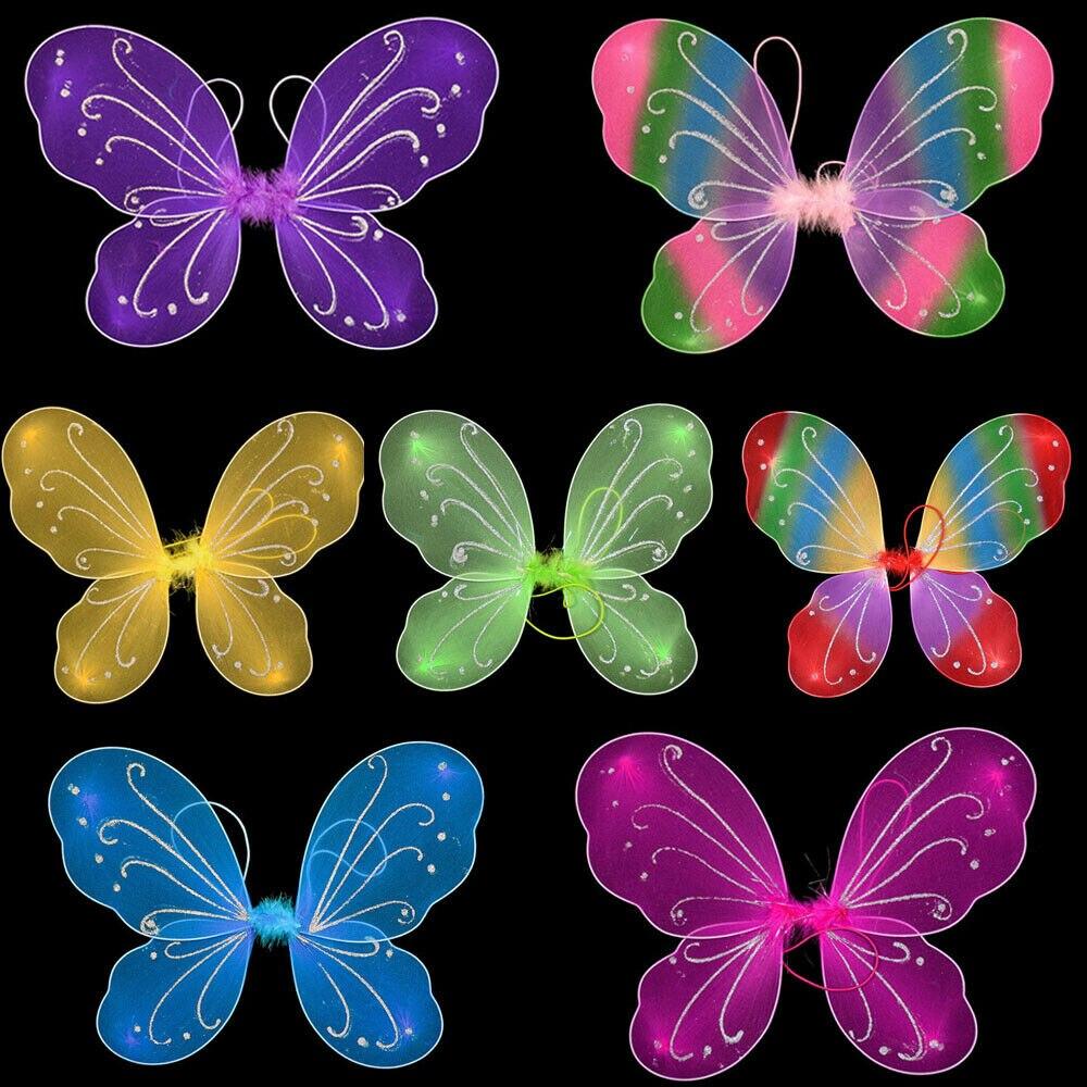 Clochette Argent Papillon Ailes pour adultes elfes ailes Contes ailes