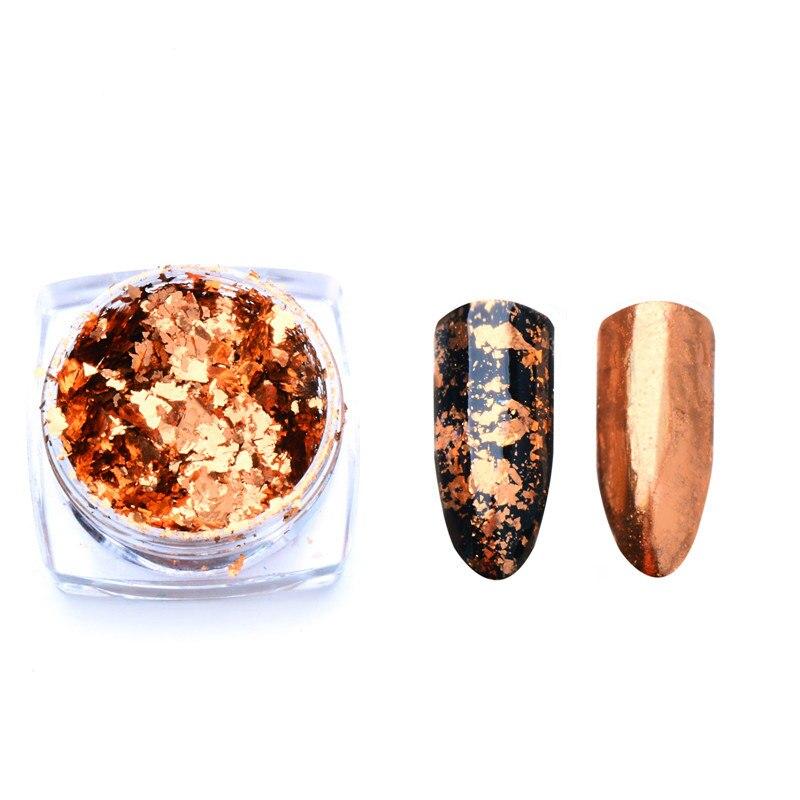 Волшебное зеркало блеск для ногтей Dip порошок Сияющий хром пигмент пыль голографическое искусство ногтей Маникюр УФ пудра для ногтей гель лак - Цвет: VH4230