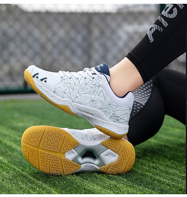 Masculino feminino badminton sapatos 2020 respirável tênis