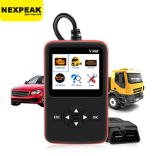 Car Truck OBD2 Scanner Heavy Duty Truck Diagnostics Code Reader Auto Scanner Truck ABS DPF Oil Light Reset Auto Diagnostic Tool