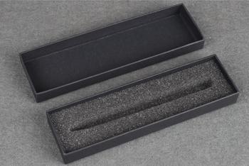 Bolígrafos para cartulina caja de regalo embalaje bolígrafo de regalo para negocios caja de caja aceptar logotipo personalizado [logotipo diy> 100]