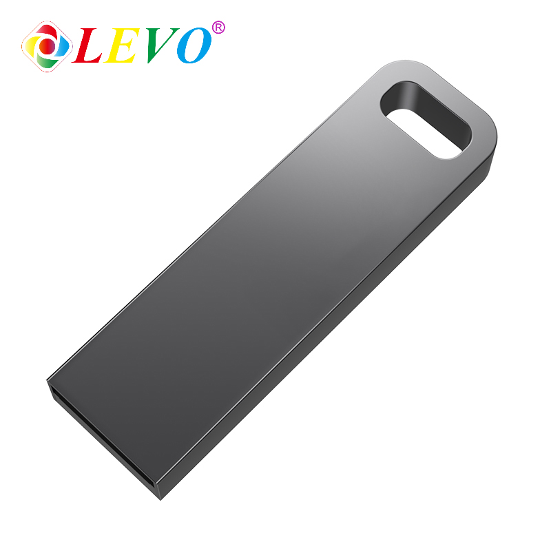 New USB Flash Drive 64GB Metal Steel Pen Drive 32gb Memory Memori Cel Usb Stick High Speed Pendrive Key U Disk Gift