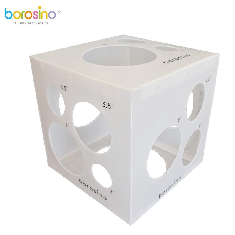 New 2018 Borosino Balloon Sizer Ruler Measurement Tool Stable 3-11.5 inch Glob