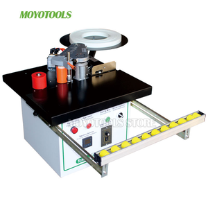 Image 1 - New type MY05/MY06 manual mini edge banding machine with cut pvc automatic woodworking edge bander