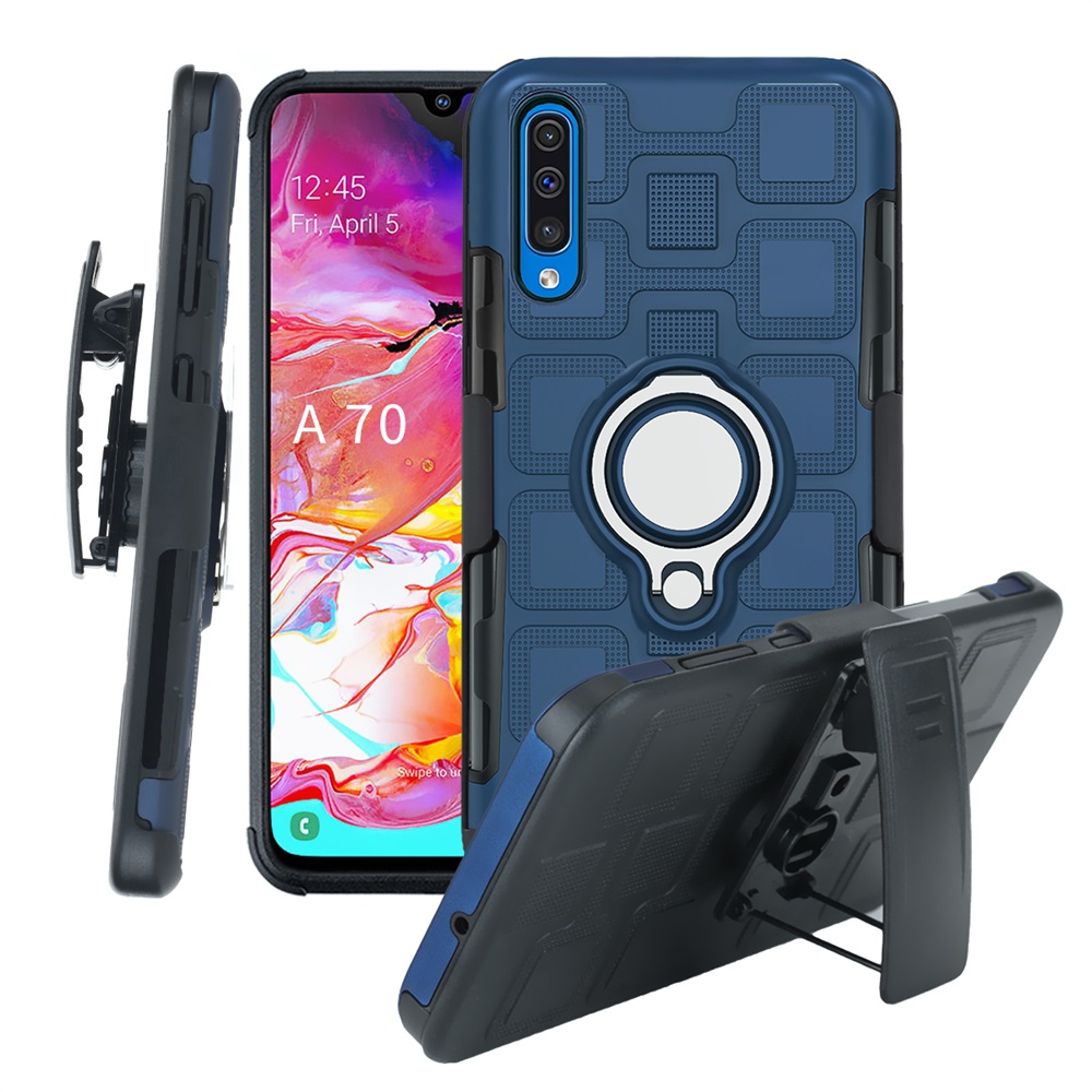 <font><b>Armor</b></font> Car Phone <font><b>Case</b></font> For <font><b>Samsung</b></font> A70 A60 <font><b>A50</b></font> A40 A30 A10 M30 Protection Cover Ring Holder Belt Clip <font><b>Case</b></font> For <font><b>Samsung</b></font> Galaxy A20E image