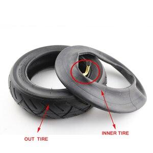 Image 4 - Neumático de tamaño 10x2,50 para bicicleta, llanta inflable de 10x2,5 para patinete eléctrico, con unidad de equilibrio y tubo interno