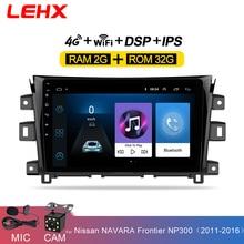Multimedia-Player Gps Navigation Android 8.1 Frontier Np300 Nissan Navara Auto-Radio