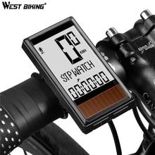 цена WEST BIKING Bike Bicycle Computer For Bike Speedometer Bicycle Goods Cycling Computer Cycle Waterproof Cycling Accessories онлайн в 2017 году