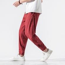 Мужские спортивные штаны для йоги 5xl льняные быстросохнущие