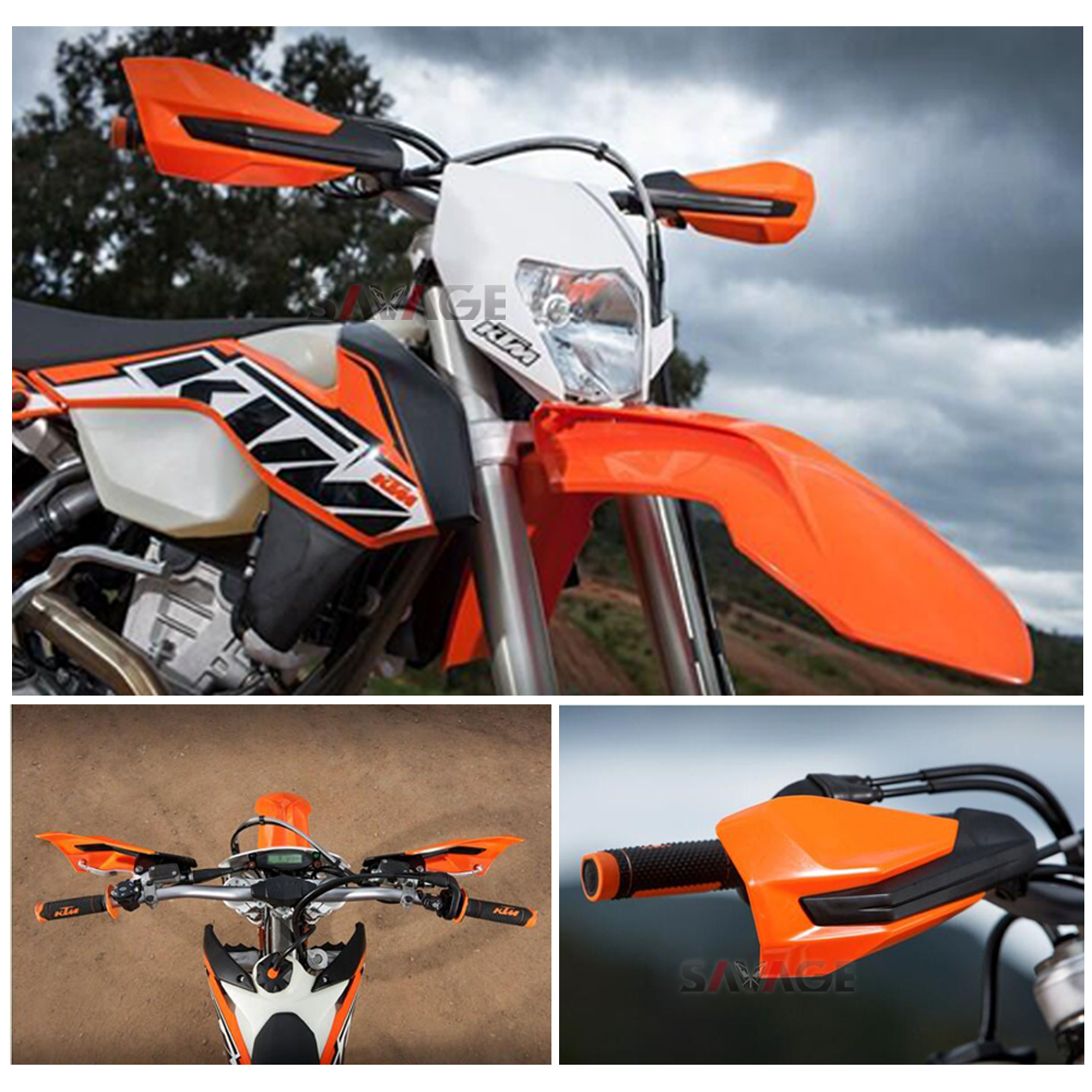 Image 5 - 2017 2020 Handlebar Handguards For KTM EXC F SX F SX 500 450 350 250 150 125 85 65 50 SXF EXCF Motorcycle Hand Guard Protector-in Covers & Ornamental Mouldings from Automobiles & Motorcycles