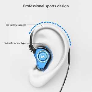 Image 3 - Wired Double Unit Drive In Ear Earphone Bass Subwoofer HIFI 6D Sound Quality Music Sport Earphone Type  C Headset earbuds