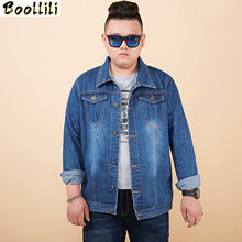 Denim Jassen Heren 7XL 6XL 5XL 4XL Plus Size Jean Jas Voor Man Jassen Mannen Lente Herfst Big Size Denim jas Voor Mannen(China)