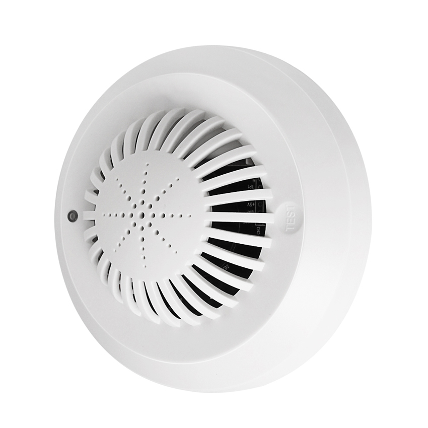 Voice Type Wireless Fire Detection Sensor Independent Smoke Detector, Low-Power Voice Prompt, Fire Alarm System For Home