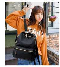 2019 Women Oxford Backpack Elegant School Bags For Teenage Girls Waterproof Tote