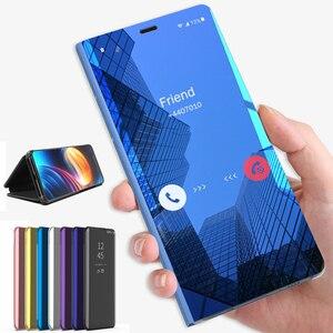 Умный зеркальный флип-чехол для телефона Xiaomi mi 10 Pro A3 9T 8 Light A2 Lite Pocophone F1 чехол задняя крышка на Xiomi my t9 mi9t mia3