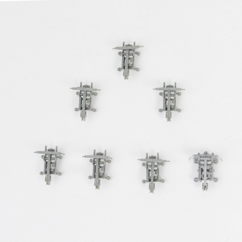 20pcs 1 160 N scale train model accessories decorative pantograph miniature train parts kits for diorama railway scene making in Model Building Kits from Toys Hobbies
