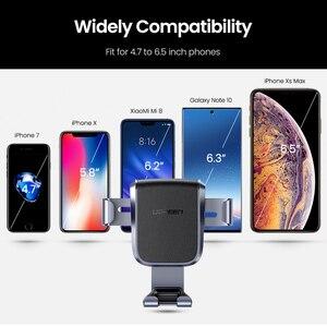 Image 5 - Ugreen Telefoon Houder Voor Mobiele Telefoon In De Auto Voor Iphone Xr Auto Cellulaire Ondersteuning Dashboard Houder Stand Smartphone Zwaartekracht Houder