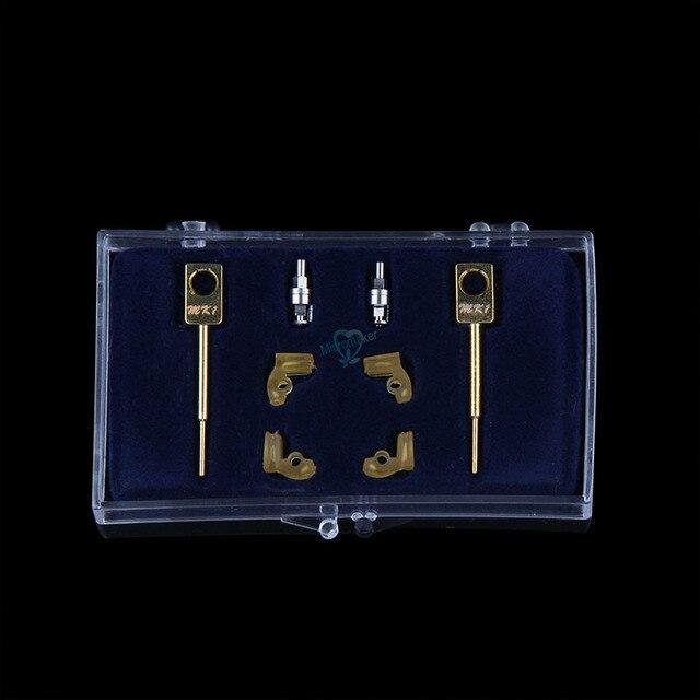2 Sets/box Dental Lab Technician Instrument MK1 Attachments Parts for Dental Metal Partials