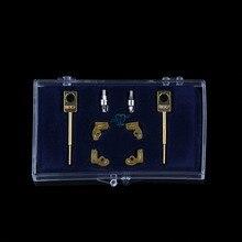 2 Sets/box שיניים מעבדה טכנאי מכשיר MK1 קבצים מצורפים חלקי שיניים מתכת חלקיים
