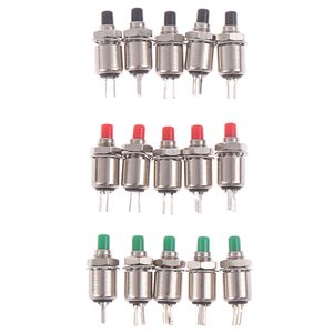 5pcs/lot 5mm Spring Return Momentary Micro Push Button Switch 0.5A DS-402