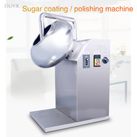 Chinese medicine polishing machine flat film coating machine automatic candy rolling machine pill machine