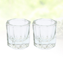 Container Liquid-Holder Tint-Bowl Crystal-Cups Glass Equipment-Tools Nail-Styling-Tool