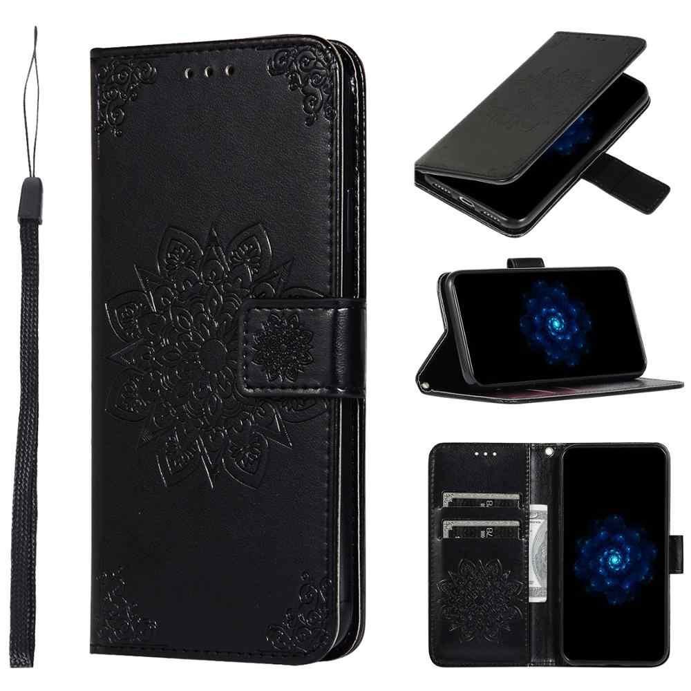COTDINFOR Samsung Galaxy A20e Funda Flip Cierre Magn/ético Billetera Elegante Retro Suave PU Cuero Cover Anti-ara/ñazo Carcasas para Samsung Galaxy A20e Big Butterfly Dark Blue KT.