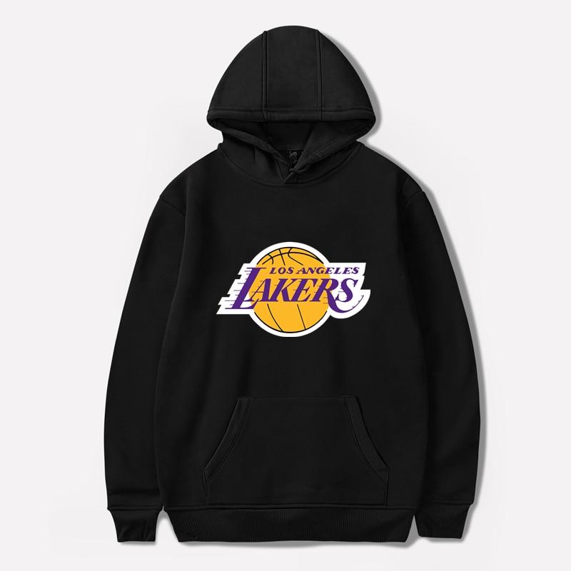 Los Angeles Basketball Hoodies Fashion Lover Hoodie Streetwear Men/women Autumn Winter Casual Hoodies Sweatshirts Pullovers Tops
