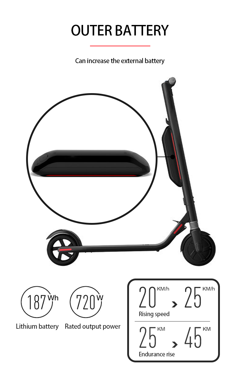 Hotest 8-inch Electric scooter CHICWAY S2 Cost-effective two-wheeled lightweight folding adult children scooter Ninebot Upgraded