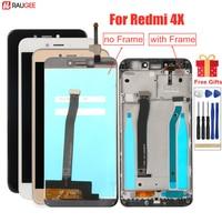 Pantalla LCD para Xiaomi Redmi 4X, marco probado, montaje de digitalizador con pantalla táctil para Xiaomi Redmi 4X Pro