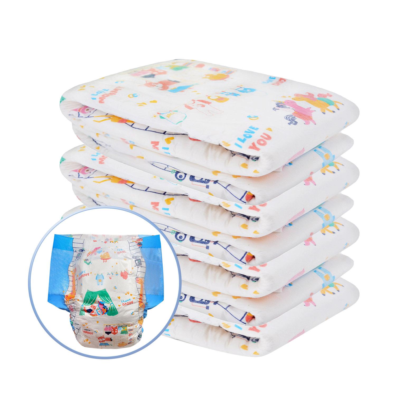 Детские подгузники большого размера 6000 мл абсорбирующие ddlg