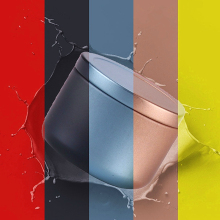 Креативные мини-металлические коробки для хранения чая, герметичные банки для кофейного порошка, портативная упаковка для цветочного чая, жестяные контейнеры