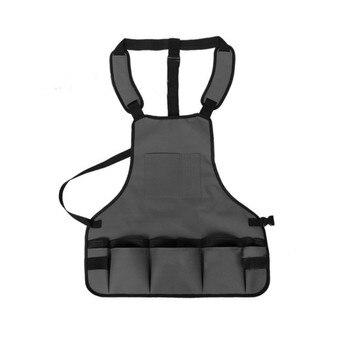 1 Pcs Multifunctional Garden Tools Apron Adjustable Belt Professional Waterproof Oxford Cloth Heavy Duty Work Garden Aprons