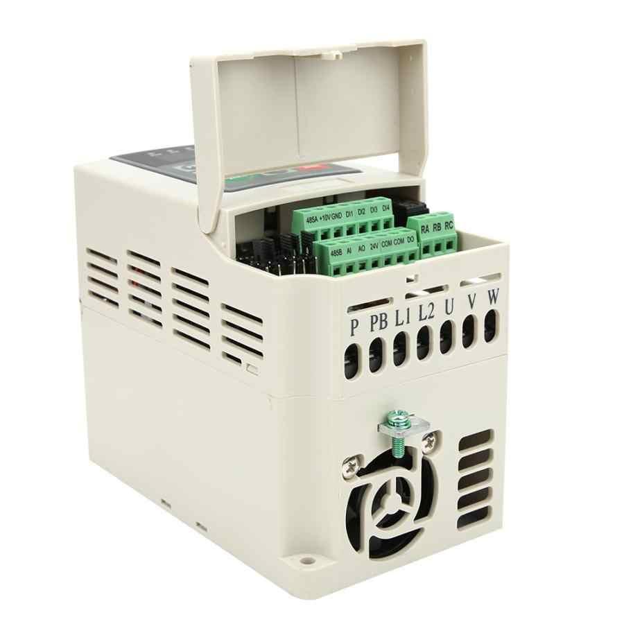 AC 220V tek fazlı giriş ve çıkış VFD invertör frekans dönüştürücü ile üretilen yüksek kaliteli elektronik bileşenler