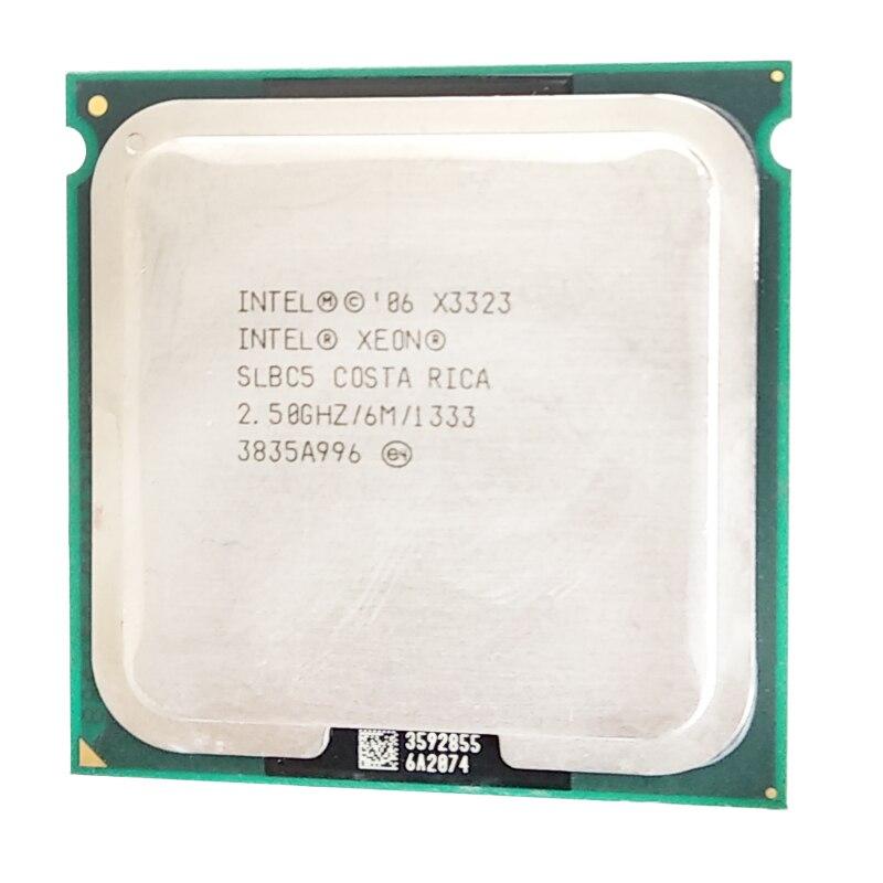 Intel Xeon X3323 X3323 Processor 2.5GHz 6M Close To LGA775 Core 2 Quad Q9400 Cpu Works LGA 775 Mainboard