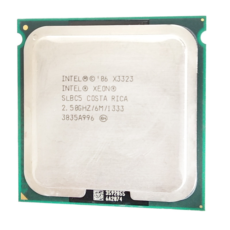Intel Xeon X3323 x3323 <font><b>Processor</b></font> 2.5GHz 6M close to LGA775 Core 2 Quad Q9400 cpu works LGA 775 mainboard image