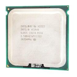Processador intel xeon x3323 x3323 2.5 ghz 6 m perto do núcleo lga775 2 quad q9400 cpu funciona lga 775 mainboard