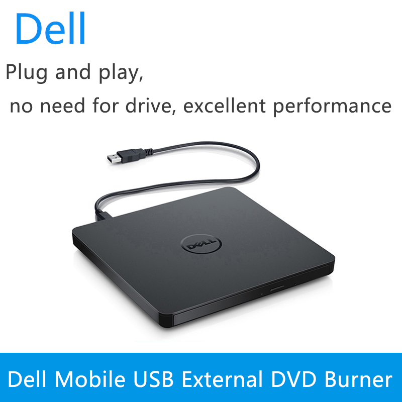 Dell external optical drive <font><b>USB</b></font> mobile optical drive notebook desktop universal <font><b>DVD</b></font> / CD burner DW316 image